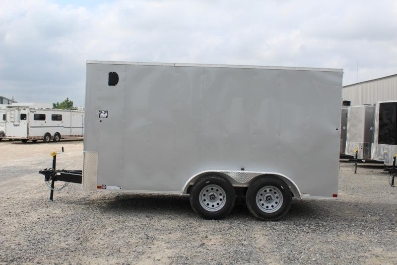 2019 Carry-On 7X14CGRBN 14' Enclosed Cargo Trailer