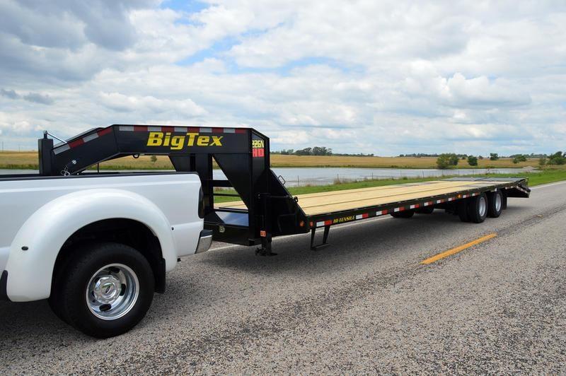 2019 Big Tex Trailers 22GN-20BK+5MR
