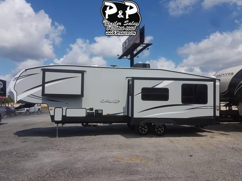 2019 Keystone Springdale 302FWRK 34.70' Fifth Wheel Campers LQ