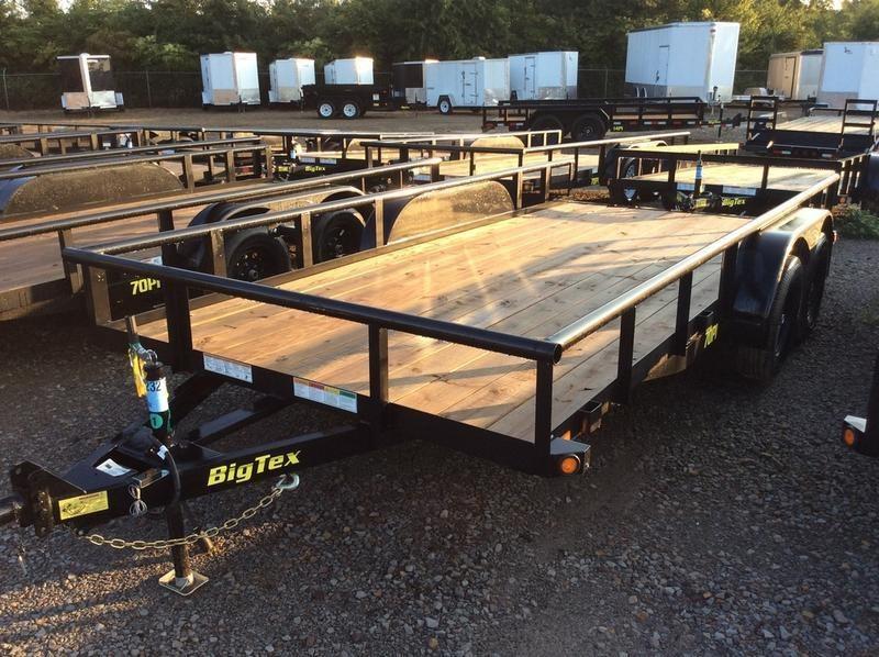 "2018 Big Tex  70PI-16XBK 83""x16 Slide In Ramps"