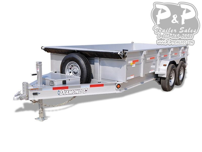 2018 Diamond C Trailers 24LPD 14' x 82 14 ft Dump Trailer
