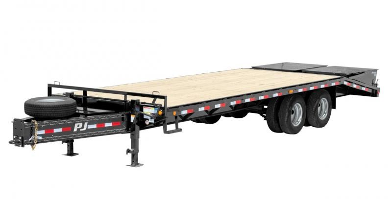 2019 PJ Trailers Classic Pintle with Duals (PD) Flatbed Trailer
