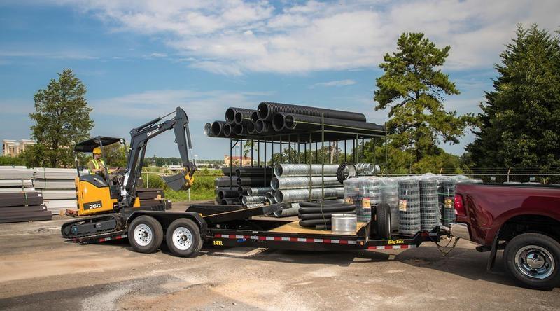 """2019 Big Tex  14TL-22BK  83""""x22' Partial Tilt"""