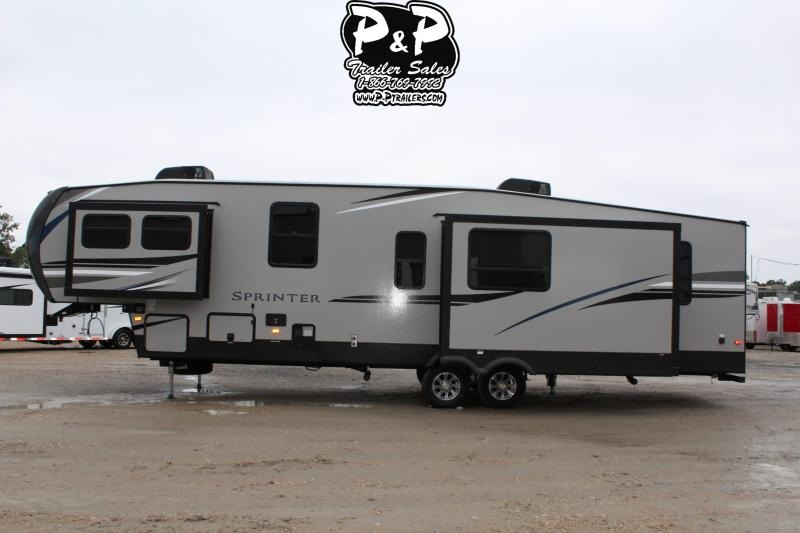 2020 Keystone Sprinter LIMITED 3551FWMLS 39' Fifth Wheel Campers