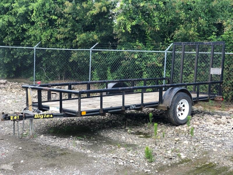 2003 Big Tex Trailers 30SA-14 14' Equipment Trailer