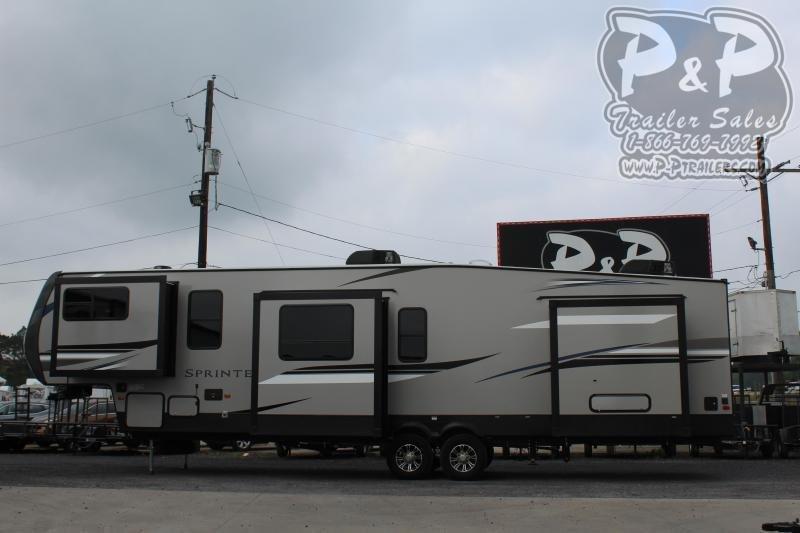 "2020 Keystone Sprinter 3611FWFKS 40' 6"" ft Fifth Wheel Campers RV"