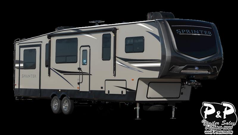 2020 Keystone Sprinter Limited 3571FWLFT 39.50' Fifth Wheel Campers RV