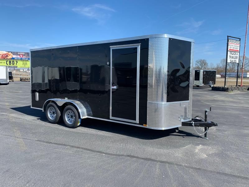 "2019 Arising 7X16VTRB Enclosed Cargo Trailer 6"" Additional Height"