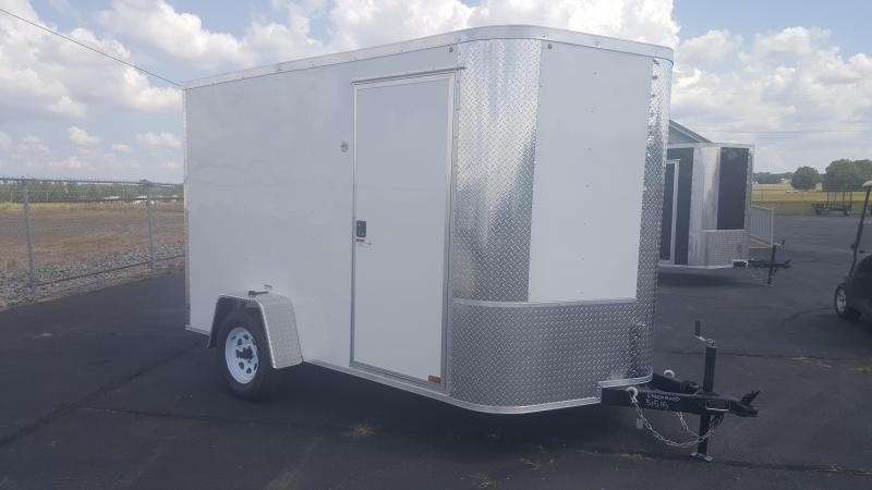 "2018 Arising 7X10VSRW Enclosed Cargo Trailer 6"" Additional Height"