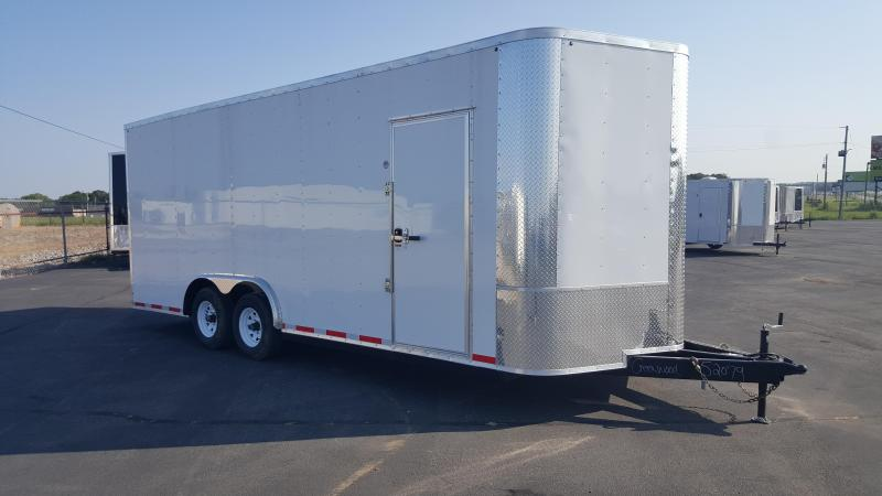"2018 Arising 8.5X20VTRW Cargo / Enclosed Trailer 12"" Additional Height"