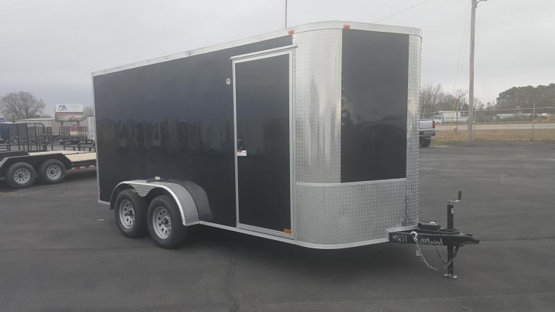 "2018 Arising 7X14VTRB Enclosed Cargo Trailer 6"" Additional Height"