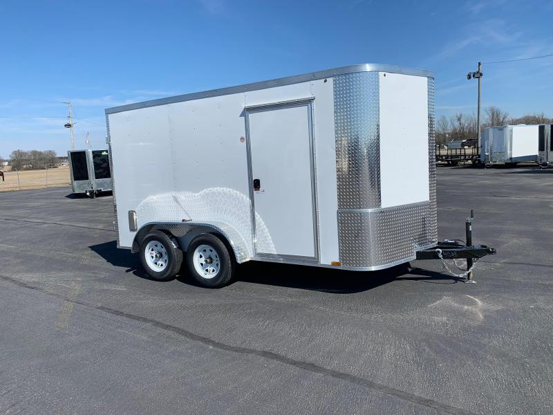 2019 Arising 7X12VTDW Enclosed Cargo Trailer