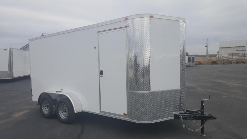 "2018 Arising 7X14VTRW Cargo / Enclosed Trailer 6"" Additional Height"