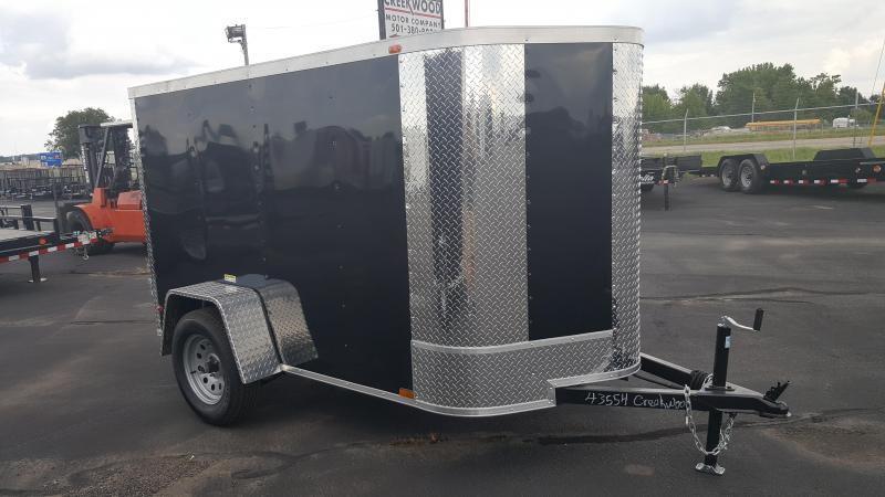 2017 Arising 5X8VSDB Cargo / Enclosed Trailer