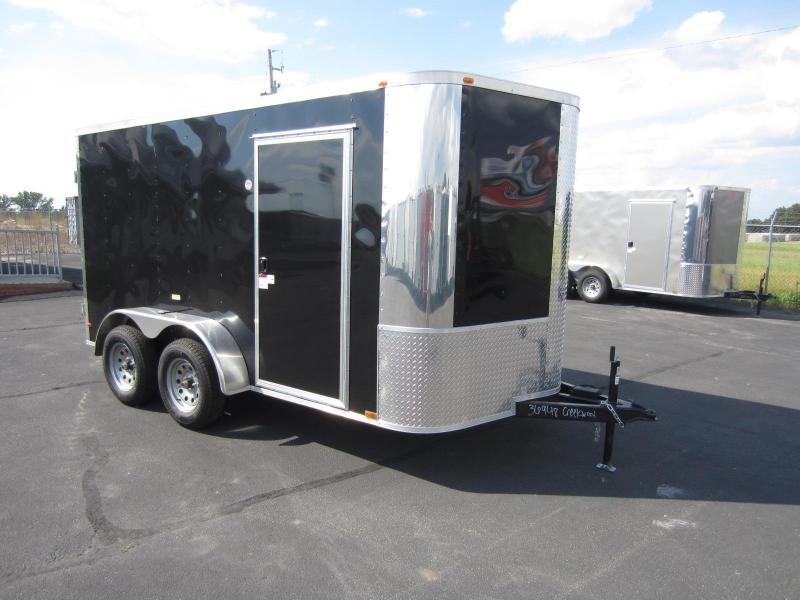 2017 SPECIAL Arising 7X12VTDB Enclosed Cargo Trailer