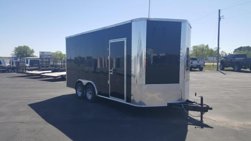 "2018 Arising 8X16VTRB Enclosed Cargo Trailer 12"" Additional Height"