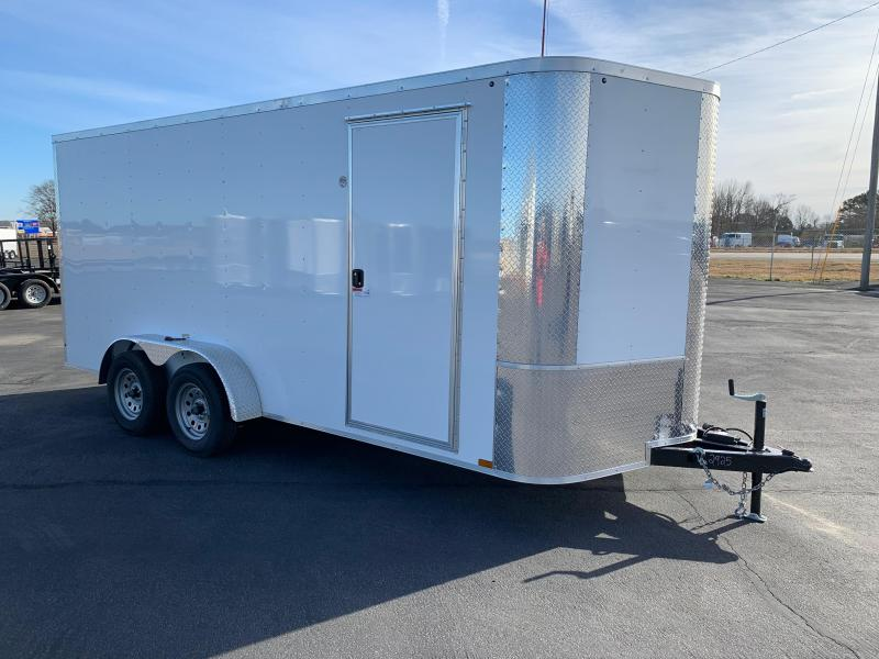 "2019 Arising 7X16VTRW Enclosed Cargo Trailer 6"" Additional Height"