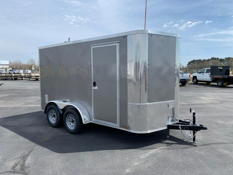 """2019 Arising 7X12VTRP Enclosed Cargo Trailer 6"""" Additional Height"""