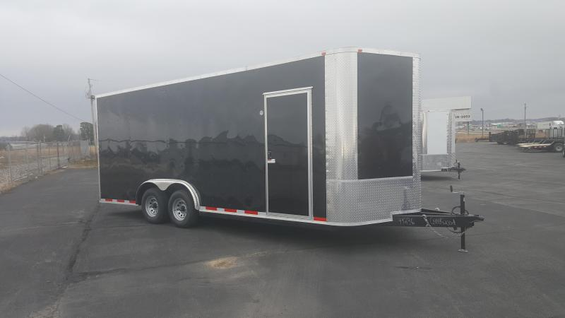 "2018 Arising 8.5X20 Cargo / Enclosed Trailer 12"" Additional Height"
