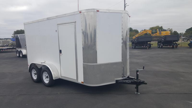2018 Arising 7X12VTRW Enclosed Cargo Trailer