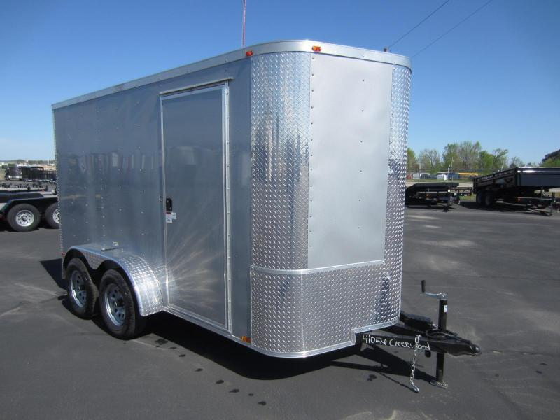"2017 Arising 6X12VTRSM Enclosed Cargo Trailer 6"" Additional Height"