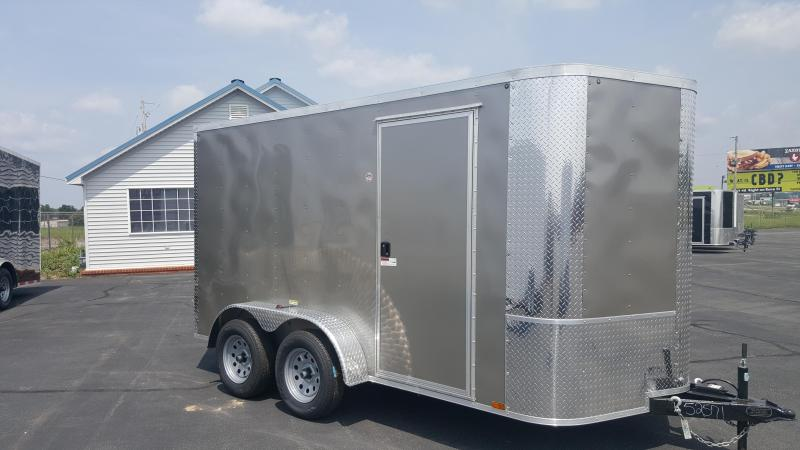 "2018 Arising 7X12VTRP Enclosed Cargo Trailer 6"" Additional Height"