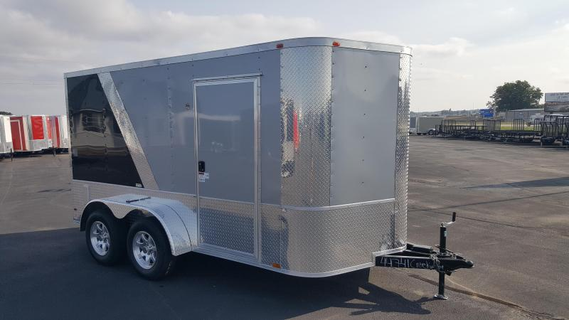 2018 Arising 7X12VTRB/S Enclosed Cargo Trailer Motorcycle Package