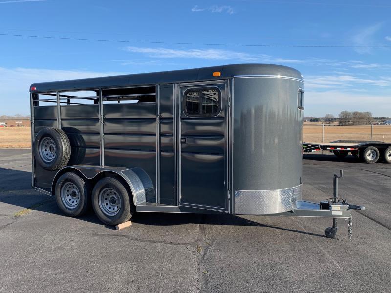 2019 Calico Trailers 3 Horse Bumper Pull 16