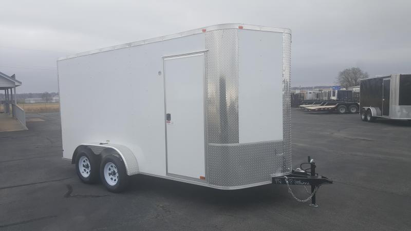 "2018 Arising 7X14VTRW Cargo / Enclosed Trailer 12"" Additional Height"