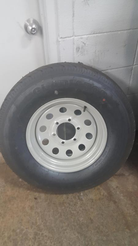 ST225/75R15 Wheel and Tire