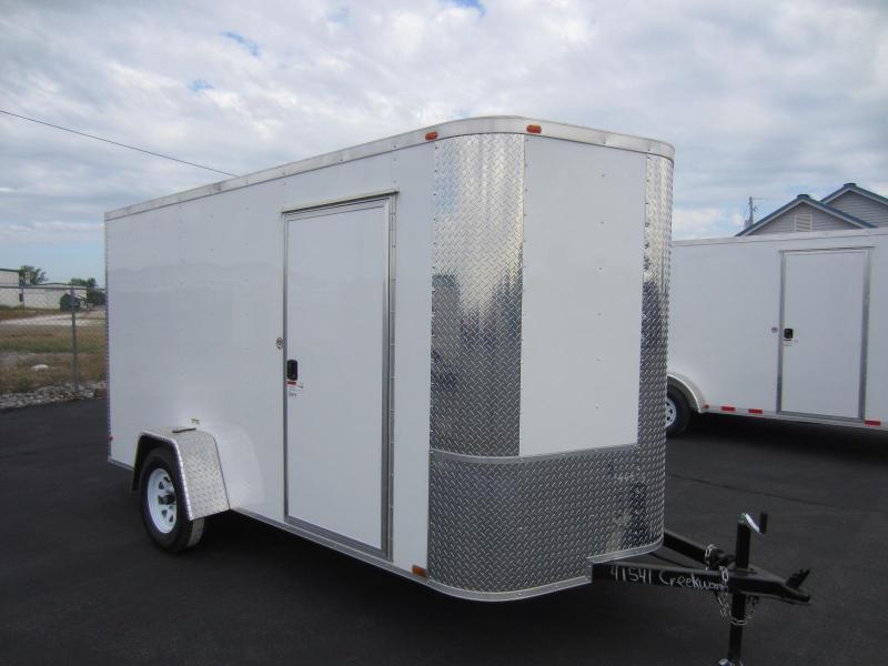 2017 Arising 6X12VSRW Enclosed Cargo Trailer