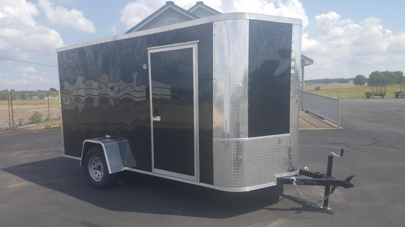 2018 Arising 6X12VSRB Enclosed Cargo Trailer