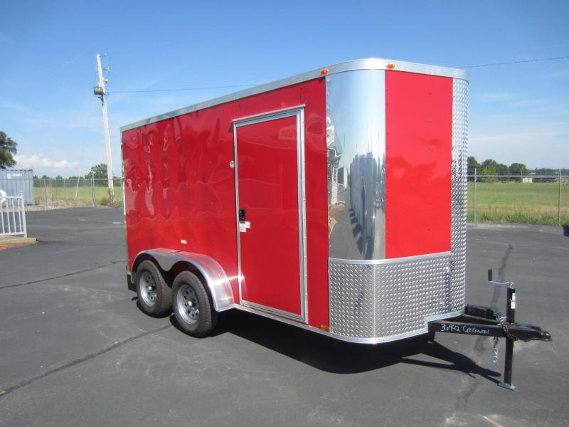 2017 Arising 6X12VTRR Enclosed Cargo Trailer