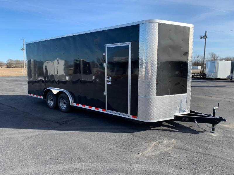 "2019 Arising 8.5X20VTRB Cargo / Enclosed Trailer 12"" Additional Height"