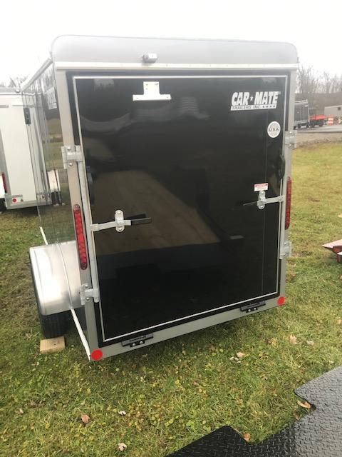 2020 Car Mate Trailers CM510ECV Single Axle Enclosed Cargo Trailer