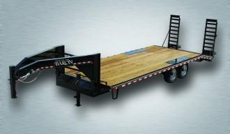 2019 Quality 24' Gooseneck (20' + 4' Pop Up Dovetail Dovetail) Professional 17000# GVW