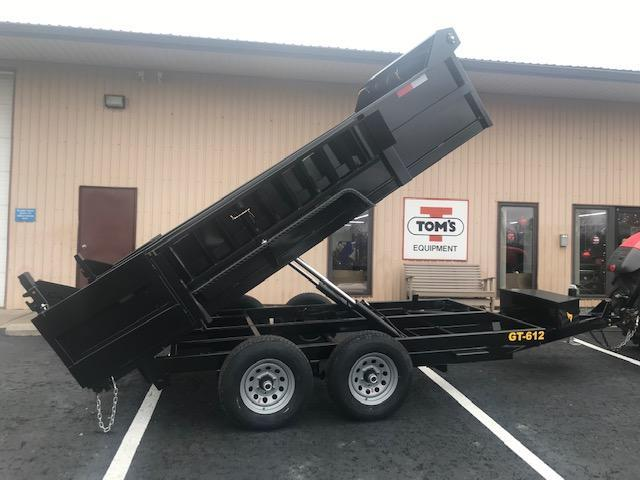 2020 Griffin 6 x 12 Low Profile 10K Dump Trailer
