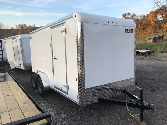 2020 Car Mate Trailers CM714EC-HD Tandem Axle Enclosed Cargo Trailer