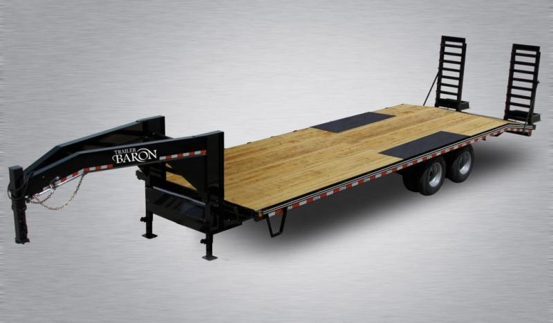 2020 Quality 30' Gooseneck (25' + 5' Pop Up Dovetail) Professional Tandem Dually 25000# GVW