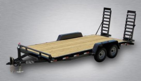 2020 Quality General Duty 20' (18' + 2' Dovetail) 14K Equipment Hauler