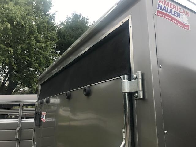 2019 American Hauler Industries 8.5 X 16 NIGHT HAWK Enclosed Cargo Trailer