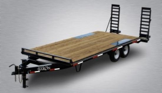 2020 Quality 22' Deckover (18' + 4' Dovetail) Trailer General Duty 14000# GVW