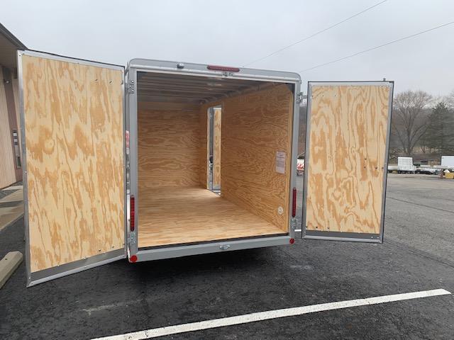 2020 Car Mate Trailers CM714EC-HD Tandem Axle Sportster Enclosed Cargo Trailer w/ Barn Doors
