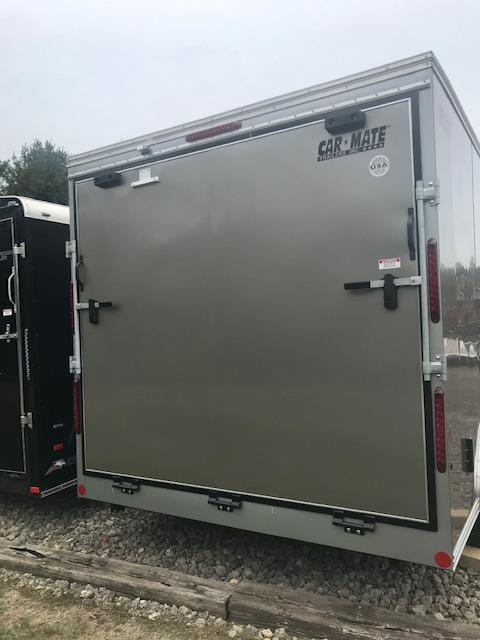 2020 Car Mate Trailers CM816CC-HD - 8'W Tandem Axle Custom Cargo Trailer Enclosed Cargo Trailer
