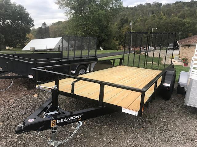 "2020 Belmont Machine 82"" X 16'  Utility Trailer - 7000# GVWR"