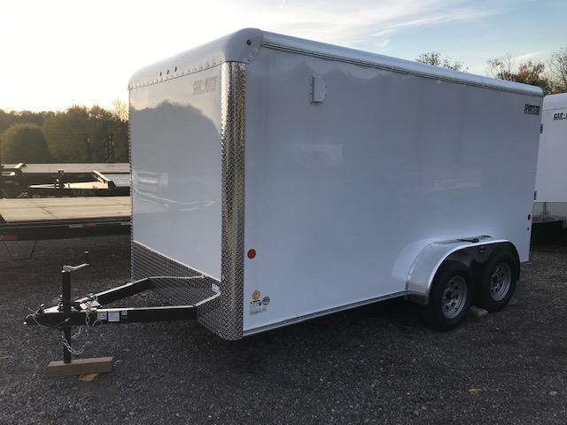 2020 Car Mate Trailers CM714EC-HD Tandem Axle Enclosed Cargo Trailer
