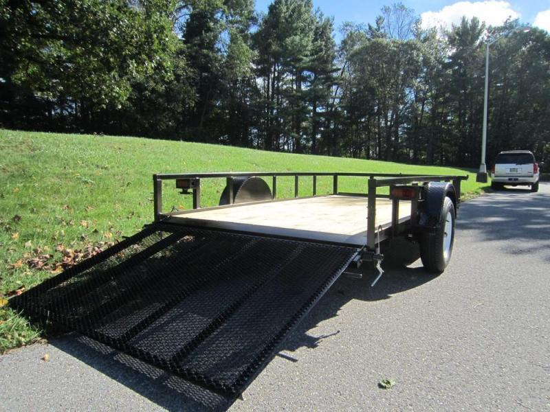 2019 Premier 6 x 14 Single Axle Landscape Trailer