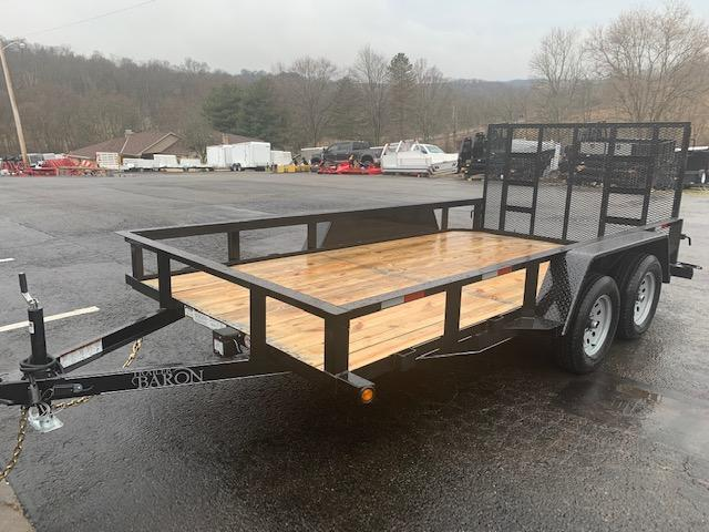 "2020 Quality 82"" x 14' Tandem Axle Landscape Trailer General Duty"