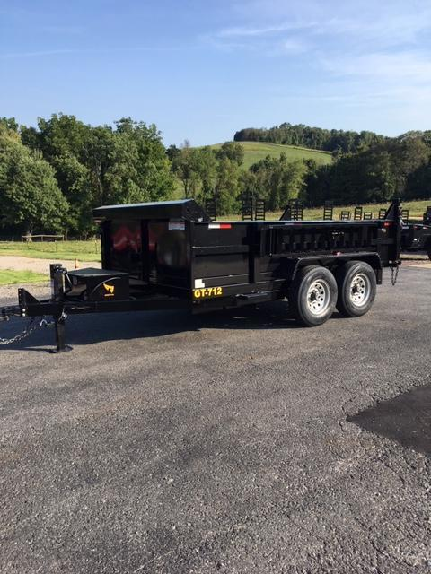 2020 Griffin 7 x 12 Low Profile 12K Dump Trailer