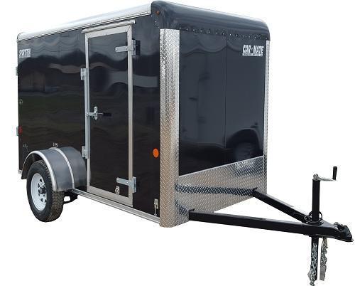 2020 Car Mate Trailers CM610EC Single Axle Enclosed Cargo Trailer W/ Barn Doors